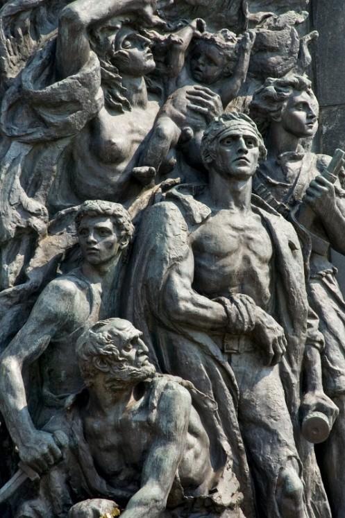Μνημείο για το γκέτο της Βαρσοβίας